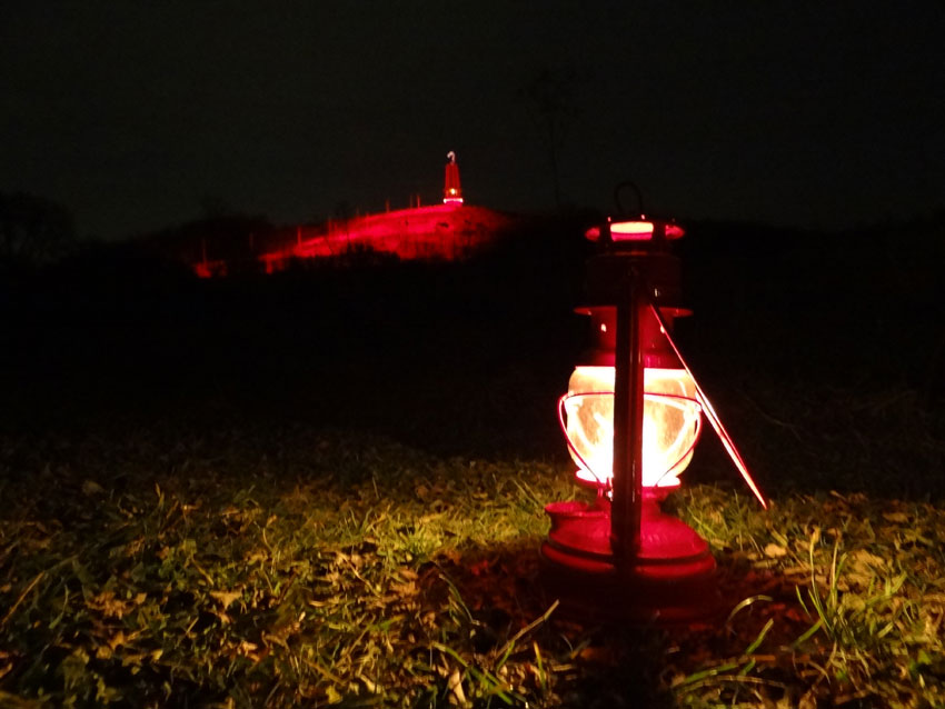 Geleucht auf der Halde Rheinpreußen/ Moers